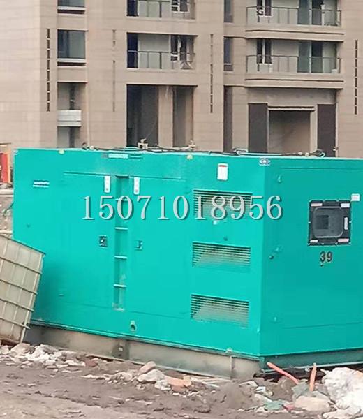 武汉地铁2号线400KW发电机出租