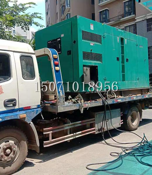 中建三局武汉有限公司300KW发电机